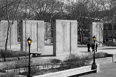 二战东海岸纪念品,纽约 库存图片