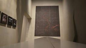 二战博物馆在格但斯克莫洛托夫Ribbentrop契约的 库存图片