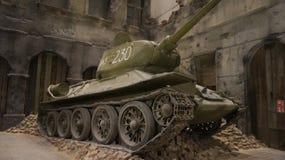 二战博物馆在格但斯克 免版税库存照片