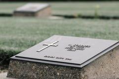 二战坟墓 库存图片