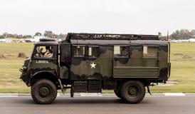 二战第75纪念游行 免版税图库摄影