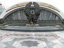 二战纪念碑在阿什伽巴特 免版税库存图片