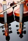 二把小提琴 图库摄影