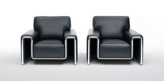 二把椅子 免版税库存图片