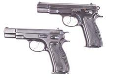二杆枪 免版税库存图片