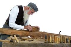 二木材加工 免版税库存照片