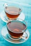 二杯茶 免版税库存图片