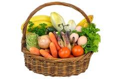 二棵蔬菜 库存照片