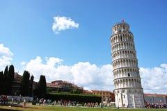 二比萨torre 免版税库存图片