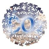 二氧化碳存在对大气-浓缩的七巧板的减少 库存图片