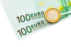 二百和一欧元 库存图片