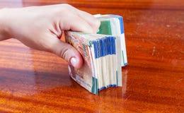 二百锡克尔钞票 库存图片