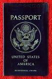 二百年美国护照 库存图片