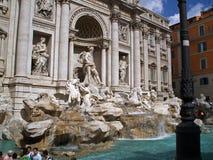 二罗马trevi 库存图片