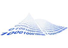 二进制代码例证 免版税库存图片