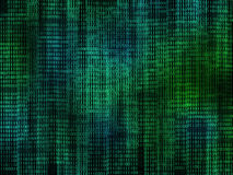 二进制代码 免版税图库摄影