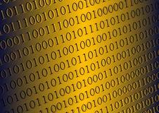 二进制代码 免版税库存图片