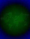 二进制地球 免版税库存照片