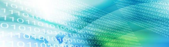 二进制标头万维网 向量例证