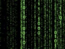 二进制矩阵 免版税库存照片