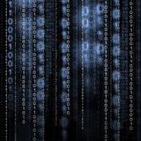 二进制编码 库存图片