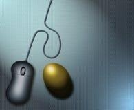 二进制蛋嵌套 免版税库存照片