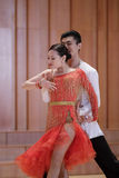 二重奏拉丁舞蹈 图库摄影