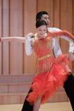 二重奏拉丁舞蹈 免版税图库摄影