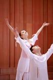 二重奏舞蹈 免版税库存照片