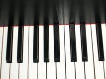 二重奏锁上生活钢琴 免版税图库摄影