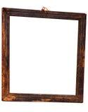 二面对切框架路径w被风化的木 库存图片