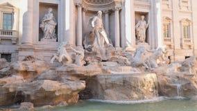 二fontana意大利罗马trevi 影视素材