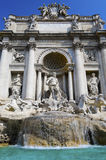 二fontana罗马trevi 库存图片