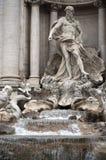 二fontana trevi 免版税库存图片