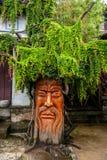 云南大理老树的龙城市 免版税库存照片