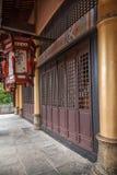 云南大理龙城市西式大厦 库存图片