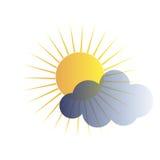 云彩传染媒介象 向量例证