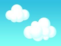 云彩例证 库存图片