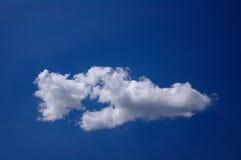 云彩吃云彩1 库存图片