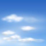 云彩向量 免版税库存照片