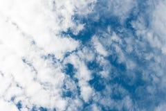 云彩和天空 免版税图库摄影
