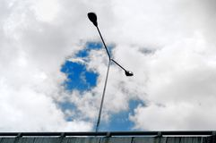 云彩和天空 库存照片