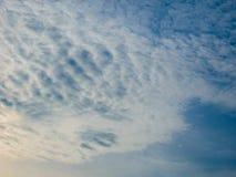 云彩和天空 库存图片