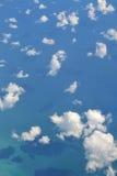 云彩和海运 免版税库存图片