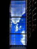 云彩和蓝色 库存图片