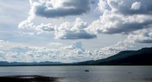 云彩和集水量 免版税图库摄影