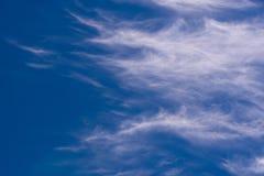 云彩在康沃尔郡 库存图片