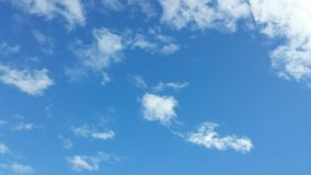 云彩在芝加哥 免版税库存照片