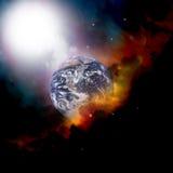 云彩地球天气 免版税库存图片