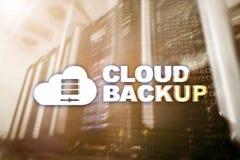 云彩备份 服务器数据预防损失的措施 网络安全 库存图片